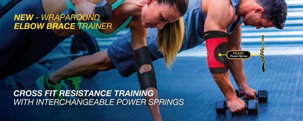 CROSS FIT Resistance Trainind - with Interchangeable Power Spring