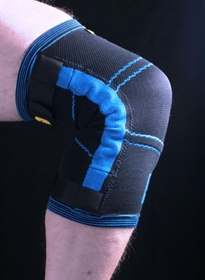 Compression Knee Support Trainer on black